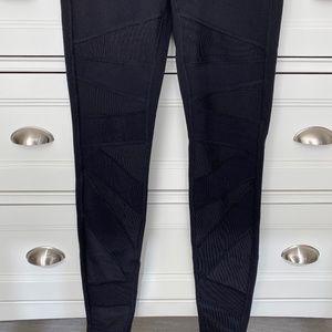 lululemon Mesh Cut Out Leggings - Black Size 6
